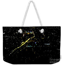 Weekender Tote Bag featuring the photograph Late Night In Cuenca, Ecuador by Al Bourassa