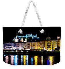 Weekender Tote Bag featuring the photograph Late Night Stroll In Salzburg by David Morefield