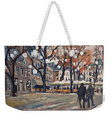 Late November At The Our Lady Square Maastricht Weekender Tote Bag