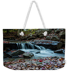 Late October Morning At Coxing Kill Weekender Tote Bag