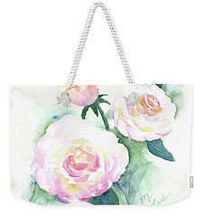 Late Summer Roses Weekender Tote Bag