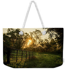 Late Summer Sunrise Weekender Tote Bag