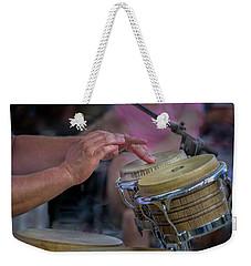 Latin Jazz Musician Weekender Tote Bag