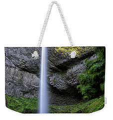Latourell Water Fall Oregon Dsc05430 Weekender Tote Bag by Greg Kluempers