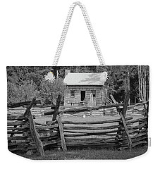 Latta Plantation Cabin Weekender Tote Bag