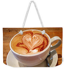 Latte Love Weekender Tote Bag