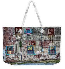 Laugh Love Hope Weekender Tote Bag