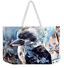 Laughing Kookaburra Weekender Tote Bag