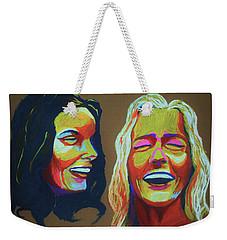 Laughter Weekender Tote Bag