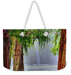 Weekender Tote Bag featuring the photograph Laupahoehoe Hawaii by DJ Florek