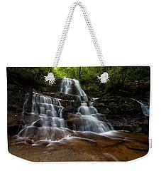 Laurel Falls Great Smoky Mountains Tennessee Weekender Tote Bag