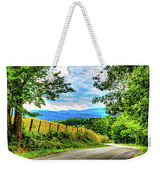 Laurel Hill View Weekender Tote Bag by Dale R Carlson