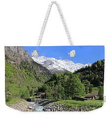 Lauterbrunnen Valley Switzerland Weekender Tote Bag