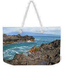Lava Coastline - West Maui Weekender Tote Bag