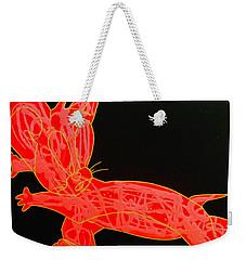 Lava Weekender Tote Bag