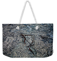 Weekender Tote Bag featuring the photograph Lava by M G Whittingham
