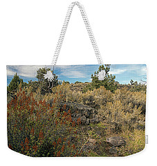 Lava Formations Weekender Tote Bag by Cindy Murphy - NightVisions