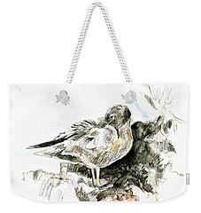 Lava Gull Weekender Tote Bag