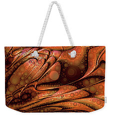 Lava Pop Weekender Tote Bag