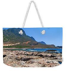 Lava Rocks Of Balos Weekender Tote Bag