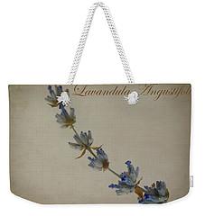 Lavandula Angustifolia Weekender Tote Bag