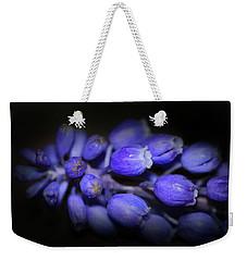 Lavendar Blue Weekender Tote Bag by Kim Henderson