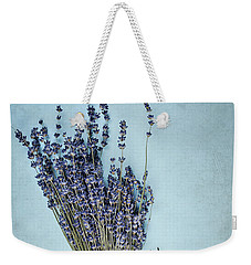 Lavender And Antique Scissors Weekender Tote Bag