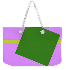 Lavender And Complement Weekender Tote Bag