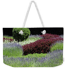 Lavender And Shrub Garden Weekender Tote Bag
