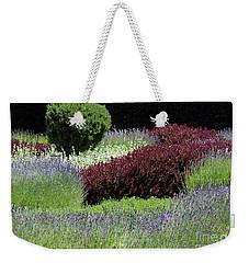 Lavender And Shrub Garden Weekender Tote Bag