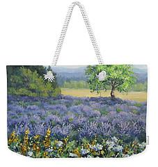 Lavender And Wildflowers Weekender Tote Bag