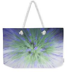 Lavender At The Speed Of Light Weekender Tote Bag