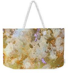 Lavender Bits Weekender Tote Bag
