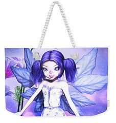 Lavender Fairy Weekender Tote Bag