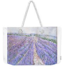 Lavender Fields Provence-france Weekender Tote Bag