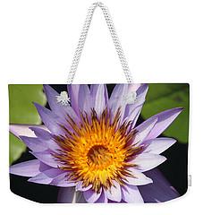 Lavender Fire Open Weekender Tote Bag