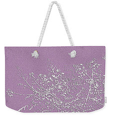 Lavender Floral Weekender Tote Bag by Ellen O'Reilly