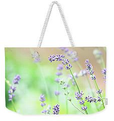 Lavender Garden Weekender Tote Bag