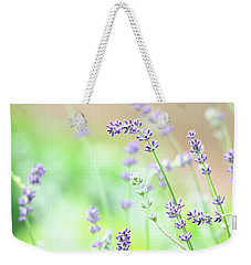 Lavender Garden Weekender Tote Bag by Trina Ansel