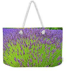 Lavender Gathering Weekender Tote Bag by Ken Stanback