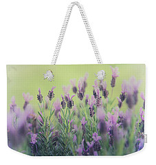Lavender Weekender Tote Bag by Keith Hawley