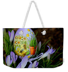 Lavender Loveliness Weekender Tote Bag by Living Color Photography Lorraine Lynch