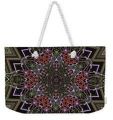 Lavender Mandala Weekender Tote Bag