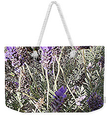 Lavender Moment Weekender Tote Bag by Winsome Gunning