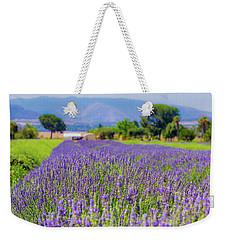 Lavender Weekender Tote Bag by Peter Tellone