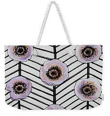 Lavender Poppies Weekender Tote Bag