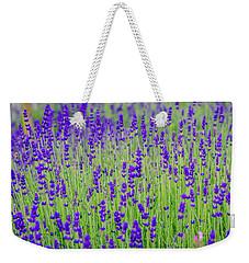 Lavender Weekender Tote Bag by Rainer Kersten