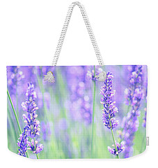 Weekender Tote Bag featuring the photograph Lavender by Rima Biswas