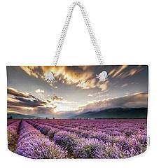 Lavender Sun Weekender Tote Bag