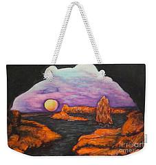 Lavender Sunrise Weekender Tote Bag